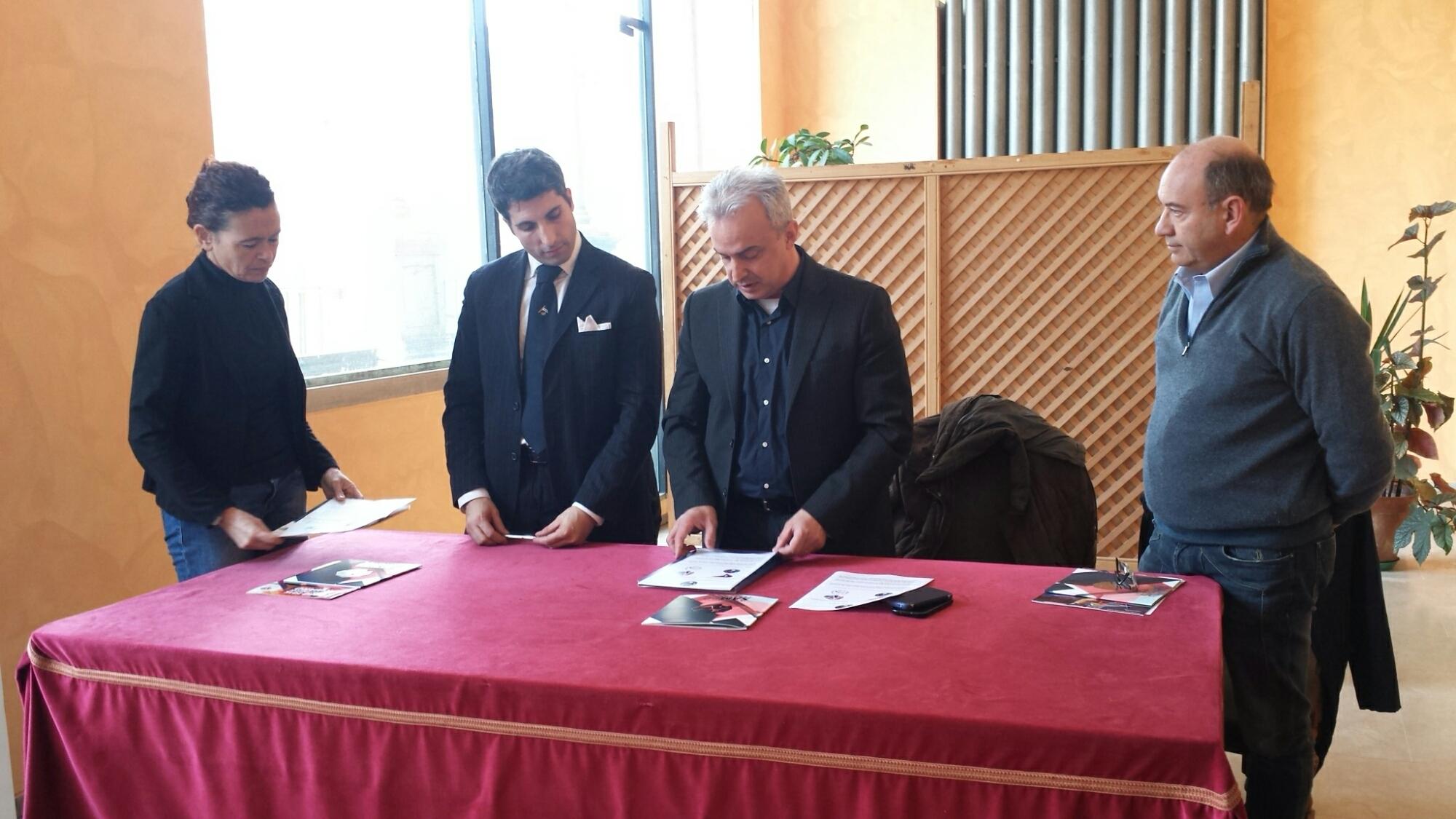 Arti Marziali a Crema Città Europea dello Sport. Firmato il del protocollo tra il comitato italiano Ju-Jitsu e l'associazione italiana Sambo Protocollo 4